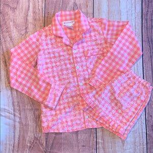 American girl pajama set Small(7/8)